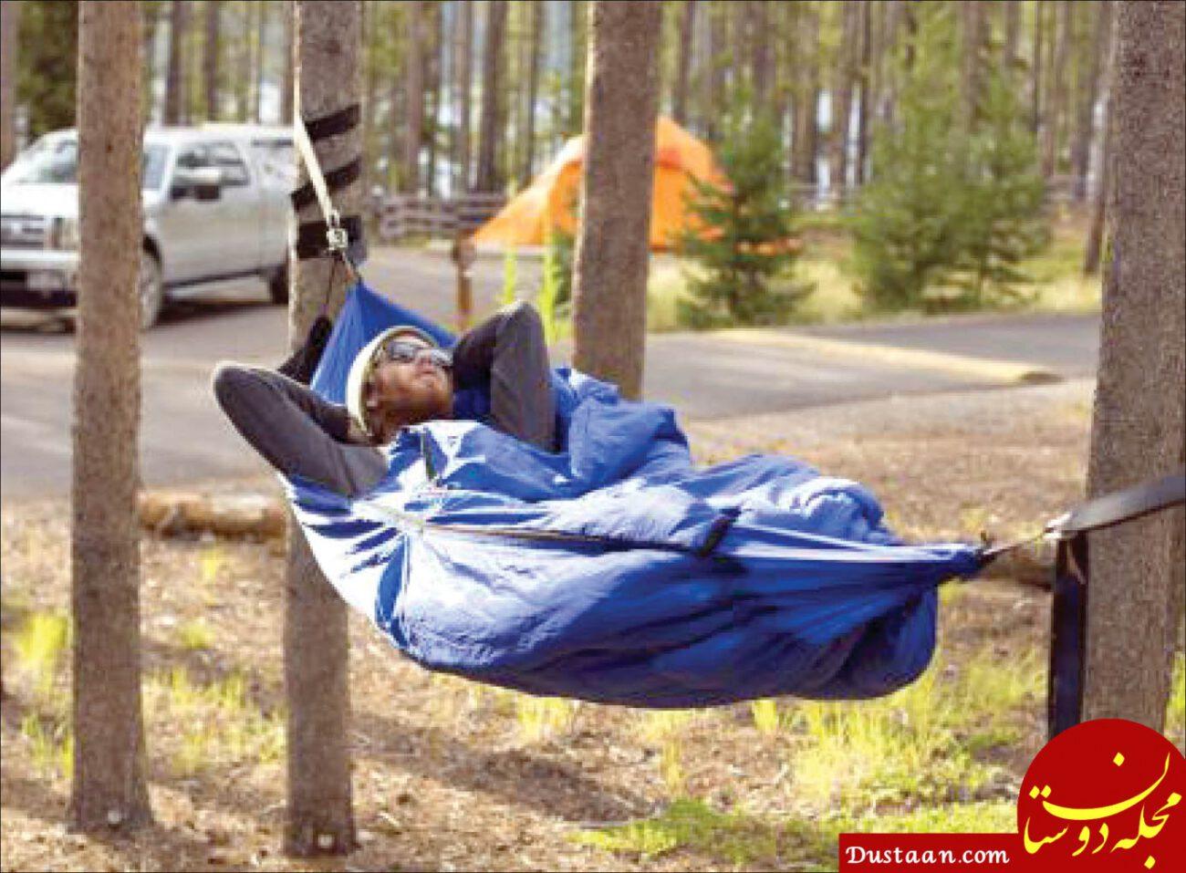 www.dustaan.com فواید خوابیدن درفضای باز بر حفظ سلامت بدن