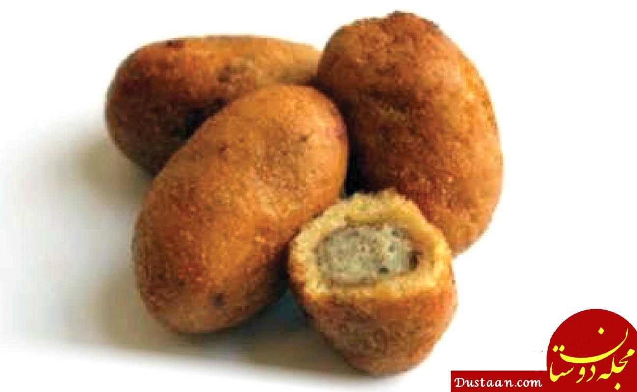 www.dustaan.com طرز تهیه پیراشکی هندی ، لذیذ و خوشمزه!