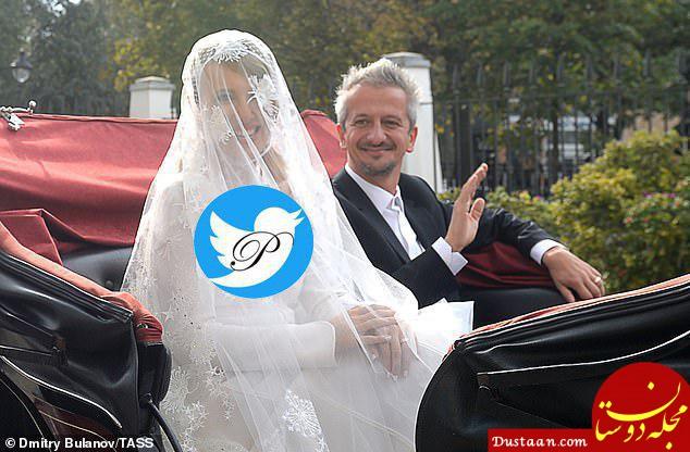 www.dustaan.com دخترخوانده پوتین برای دومین بار ازدواج کرد! +عکس