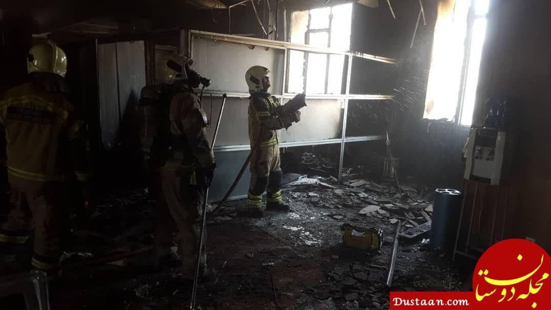 www.dustaan.com ساختمان بازار متشکل ارزی در آتش سوخت