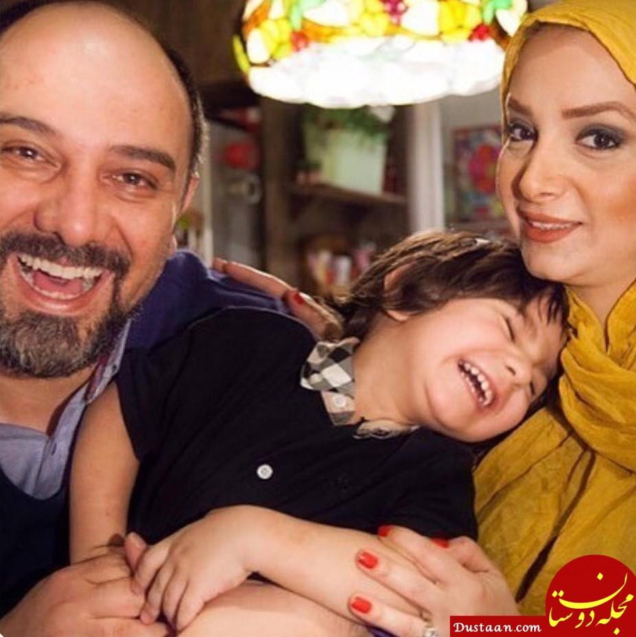 www.dustaan.com بیوگرافی و عکس های برزو ارجمند ، همسر و فرزندش