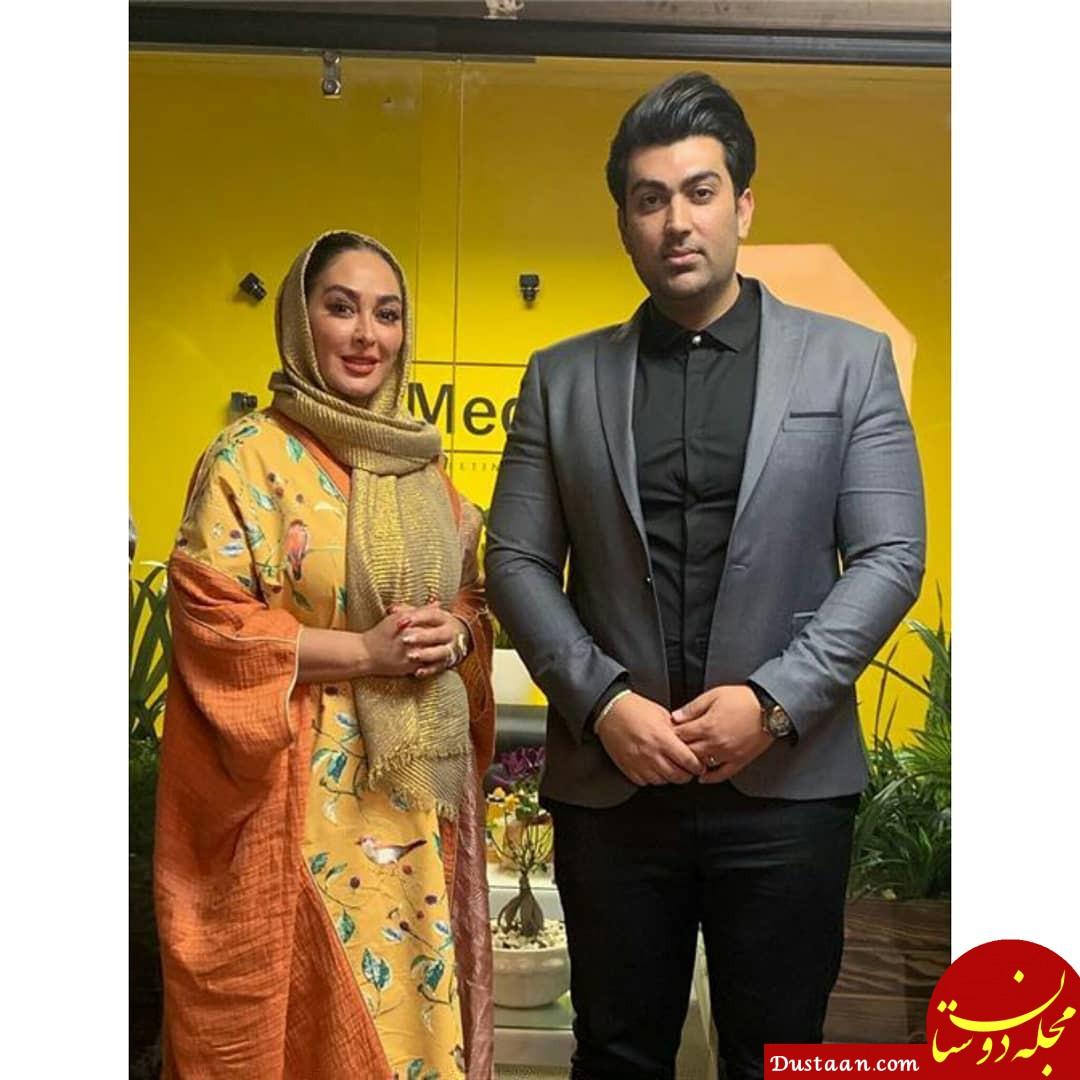 بیوگرافی و عکس های دیدنی الهام حمیدی و همسرش علیرضا صادقی