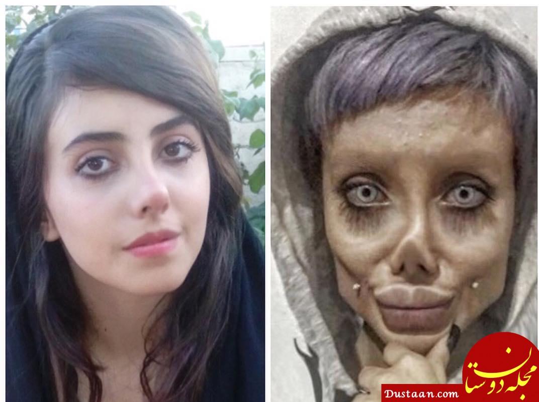 رونمایی از چهره واقعی سحر تبر ! +تصاویر