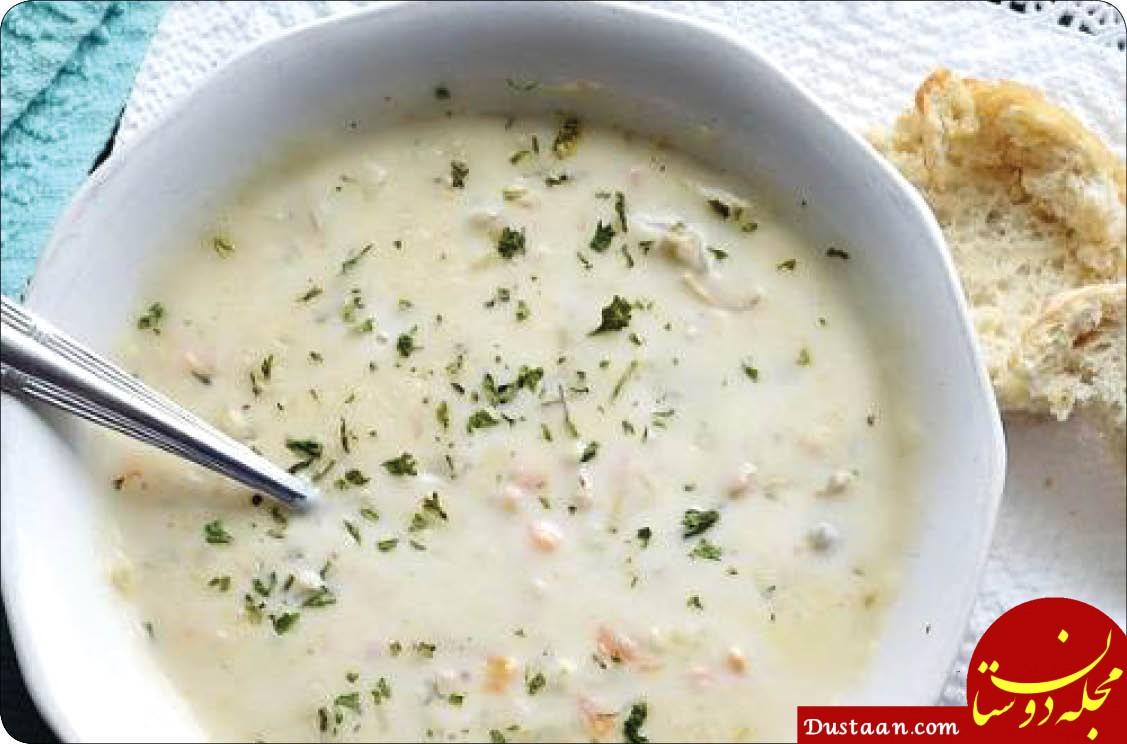 www.dustaan.com طرز تهیه آش برنج و گشنیز ، خوشمزه و متفاوت