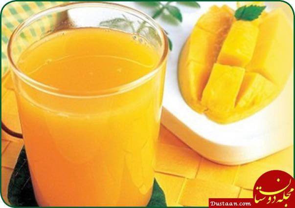 www.dustaan.com خواص شگفت انگیز شربت انبه برای سلامتی کودکان و زنان باردار