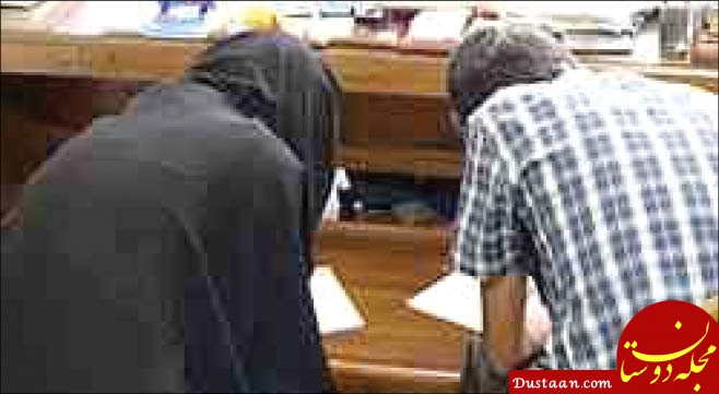 www.dustaan.com نقشه قتل روی دیوار خانه قاتل!