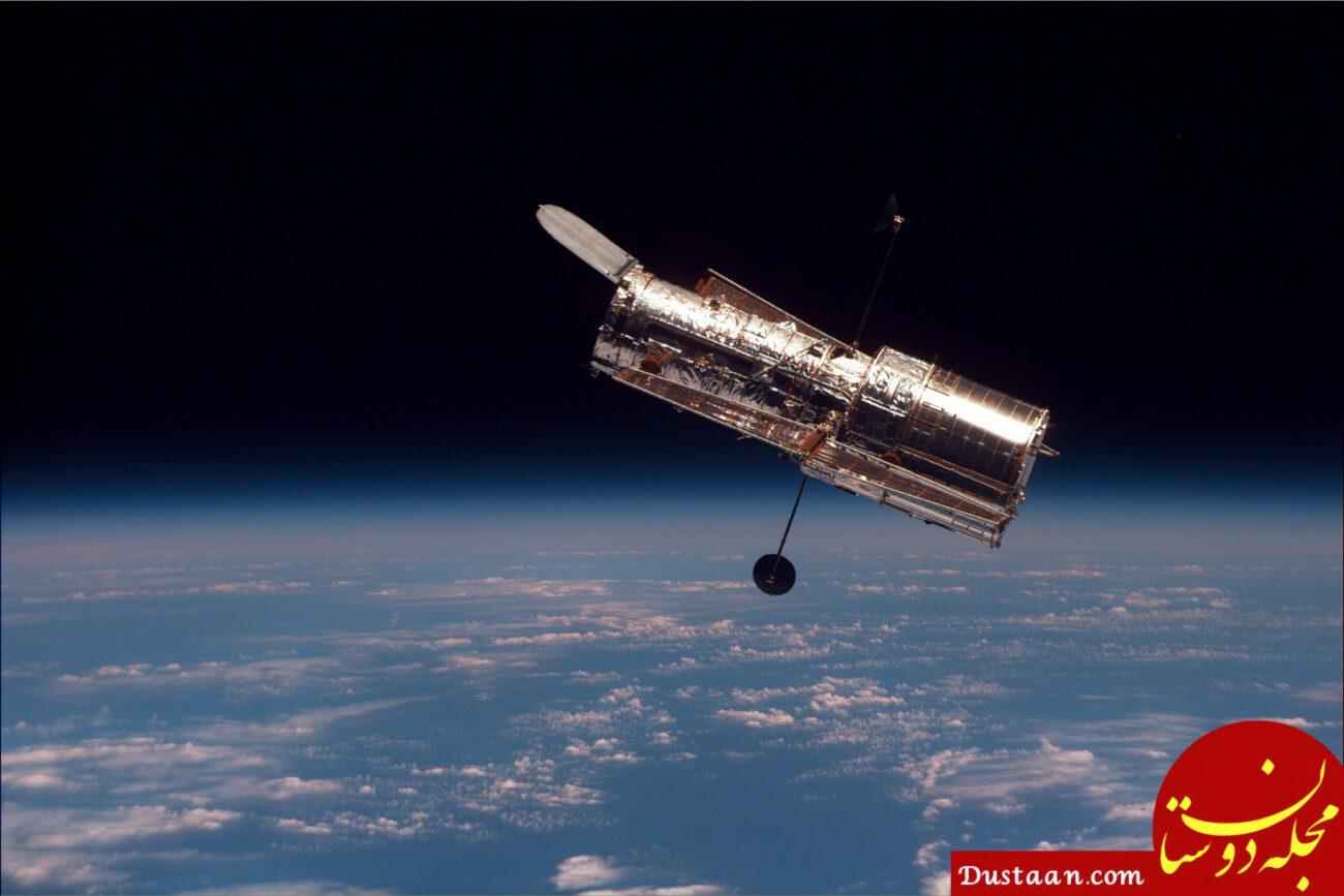 www.dustaan.com چرا تلسکوپ هابل نمی تواند حتی از نزدیکترین سیارهٔ فراخورشیدی عکس برداری کند؟