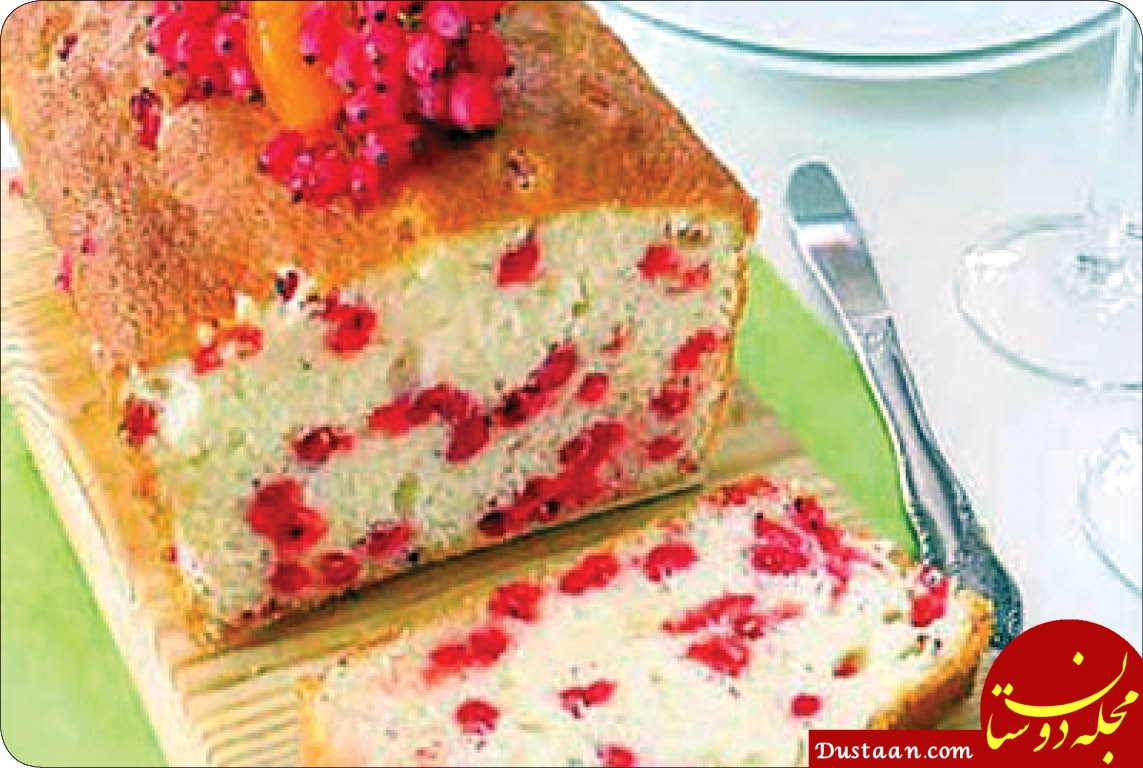 www.dustaan.com طرز تهیه کیک زرشک سرشار از ویتامین C