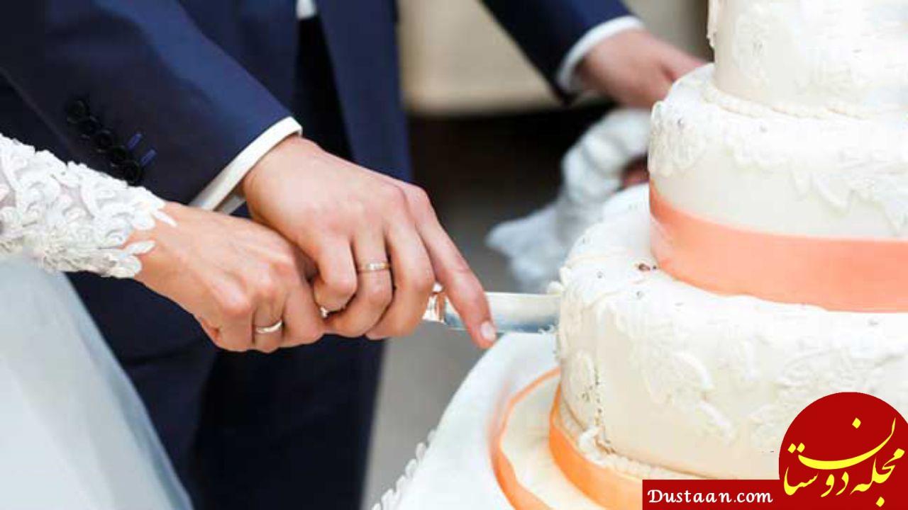 www.dustaan.com داماد فراری مصری، کیک عروسی را هم با خود برد