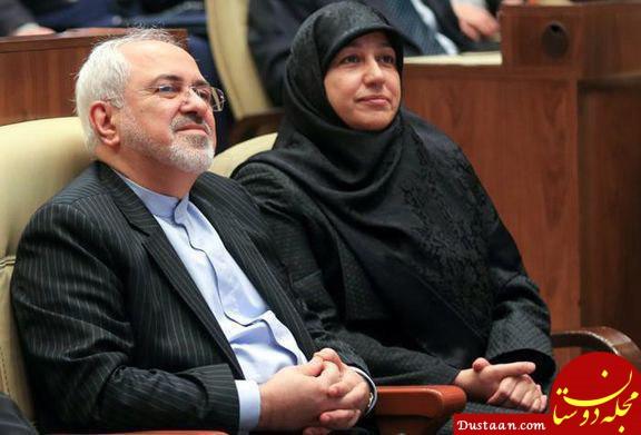 www.dustaan.com عذرخواهى ظریف و همسرش در پى اقدام شهردارى