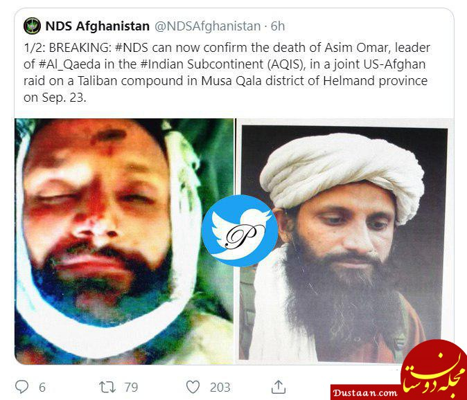 www.dustaan.com هلاکت «عاصم عمر»، رهبر القاعده در منطقه آسیای جنوبی