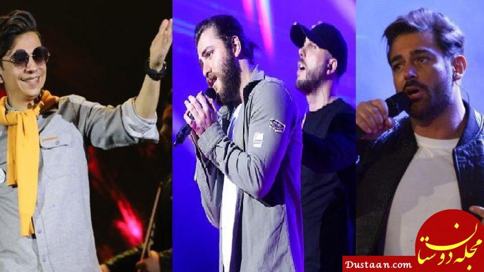 www.dustaan.com کنسرت های خالی خوانندگان ایرانی در خارج از کشور