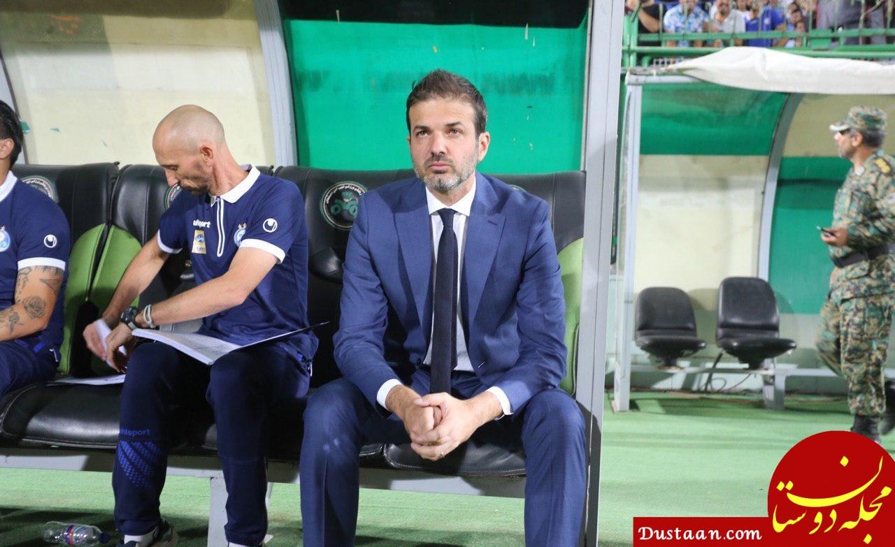 www.dustaan.com استراماچونی؛ سرمربی بدون مرخصی فوتبال ایران