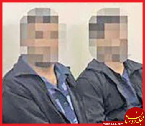 www.dustaan.com آزار و اذیت زن جوان در باغ 7 شیطان