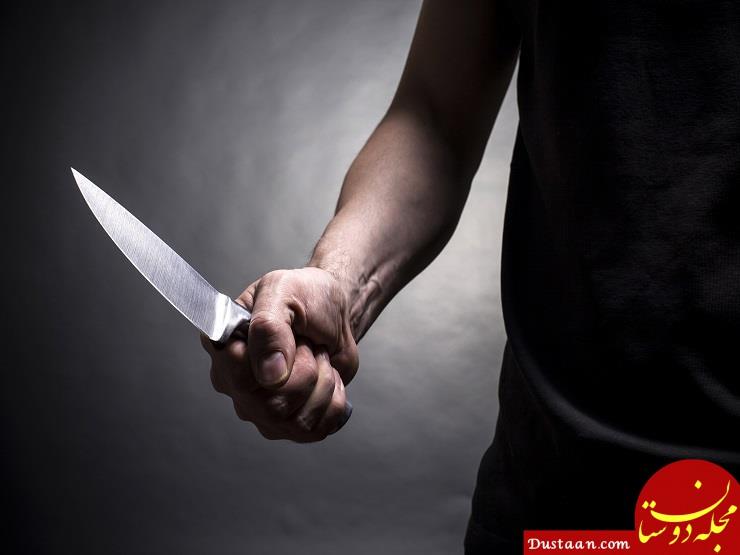 www.dustaan.com قتل همسر بی ادب با کلنگ