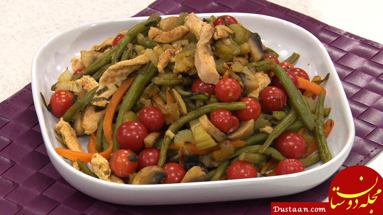 طرز تهیه خوراک مرغ رژیمی به سبکی خوشمزه و متفاوت