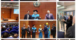 دکتر محمد جواد ظریف پروفسور افتخاری شد