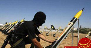 حمله موشکی مقاومت فلسطین به تل آویو