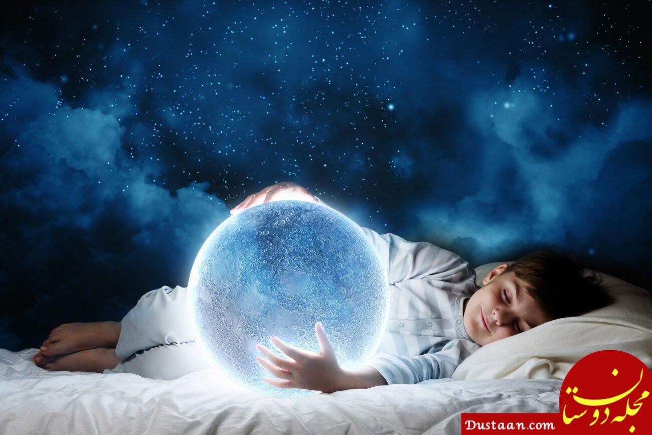 www.dustaan.com چرا نمی توانیم بسیاری از رویاهای خود را به خاطر بیاوریم؟
