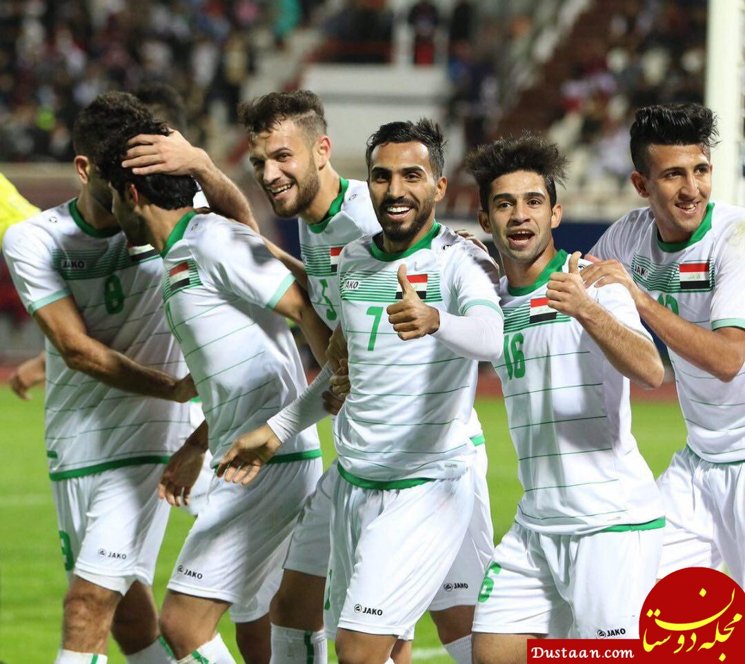 www.dustaan.com عصبانیت عراقی ها از امکانات هتل اردن قبل از بازی با ایران!