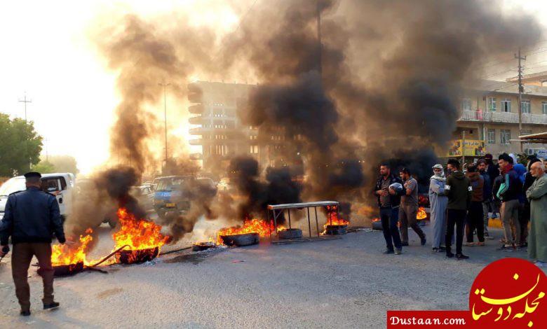 www.dustaan.com شریعتمداری: آشوبگران عراقی را قلع و قمع کنید