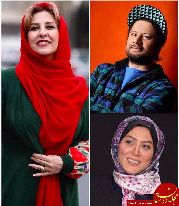 www.dustaan.com مرجانه گلچین و علی صادقی به «موچین» پیوستند