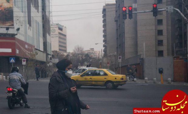 www.dustaan.com بررسی انتشار بوی نامطبوع در هوای پایتخت