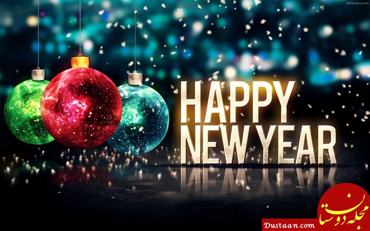 پیام و عکس های زیبا برای تبريك سال نو میلادی مسیحی / تبریک کریسمس