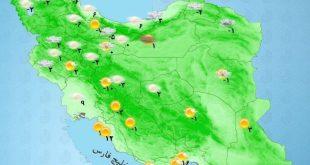 بارش برف و باران ادامه دارد / 1 بهمن 98