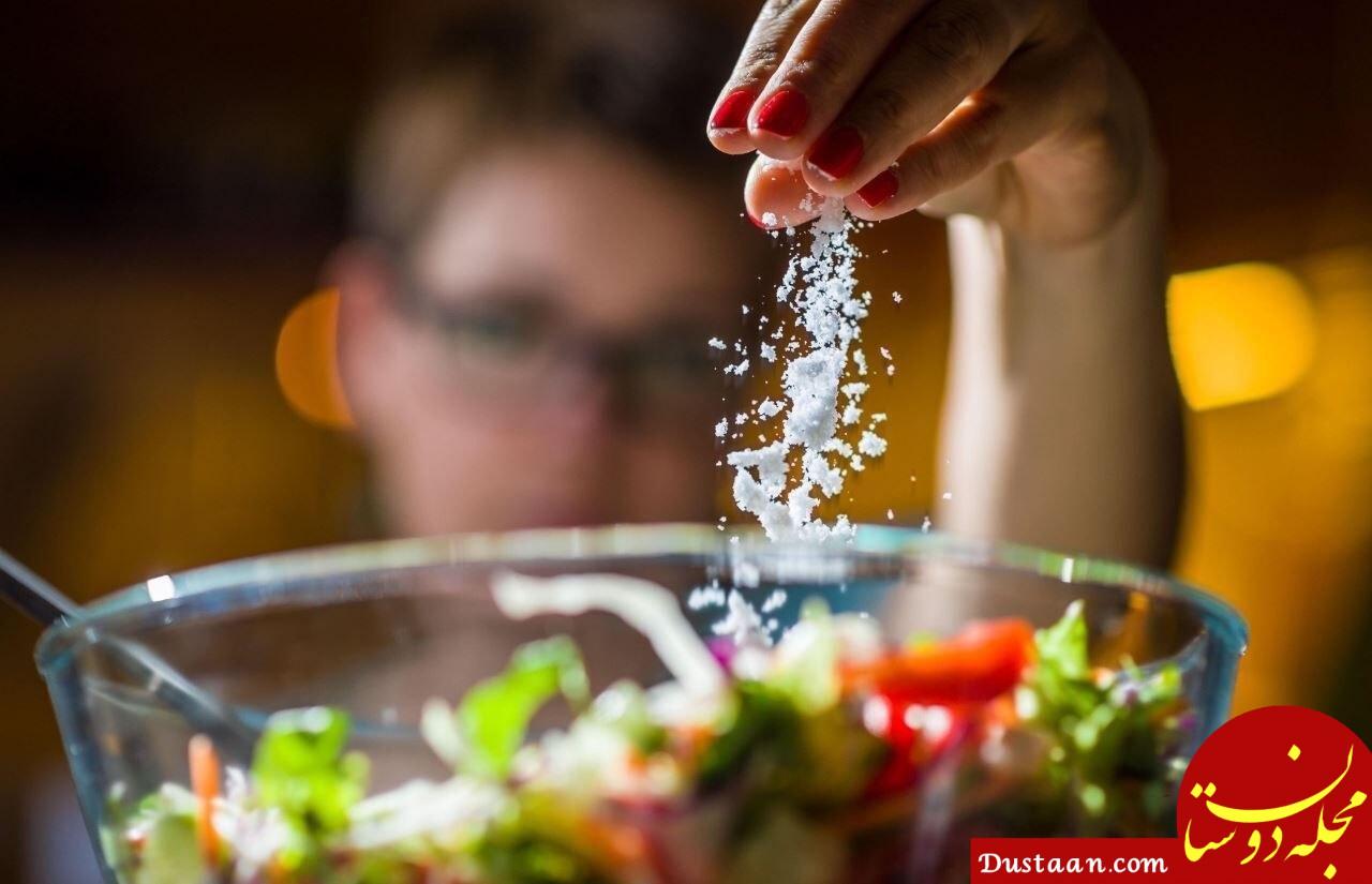 ولع مصرف نمک نشانهای از چه بیماری ها و وضعیت های بدن است؟