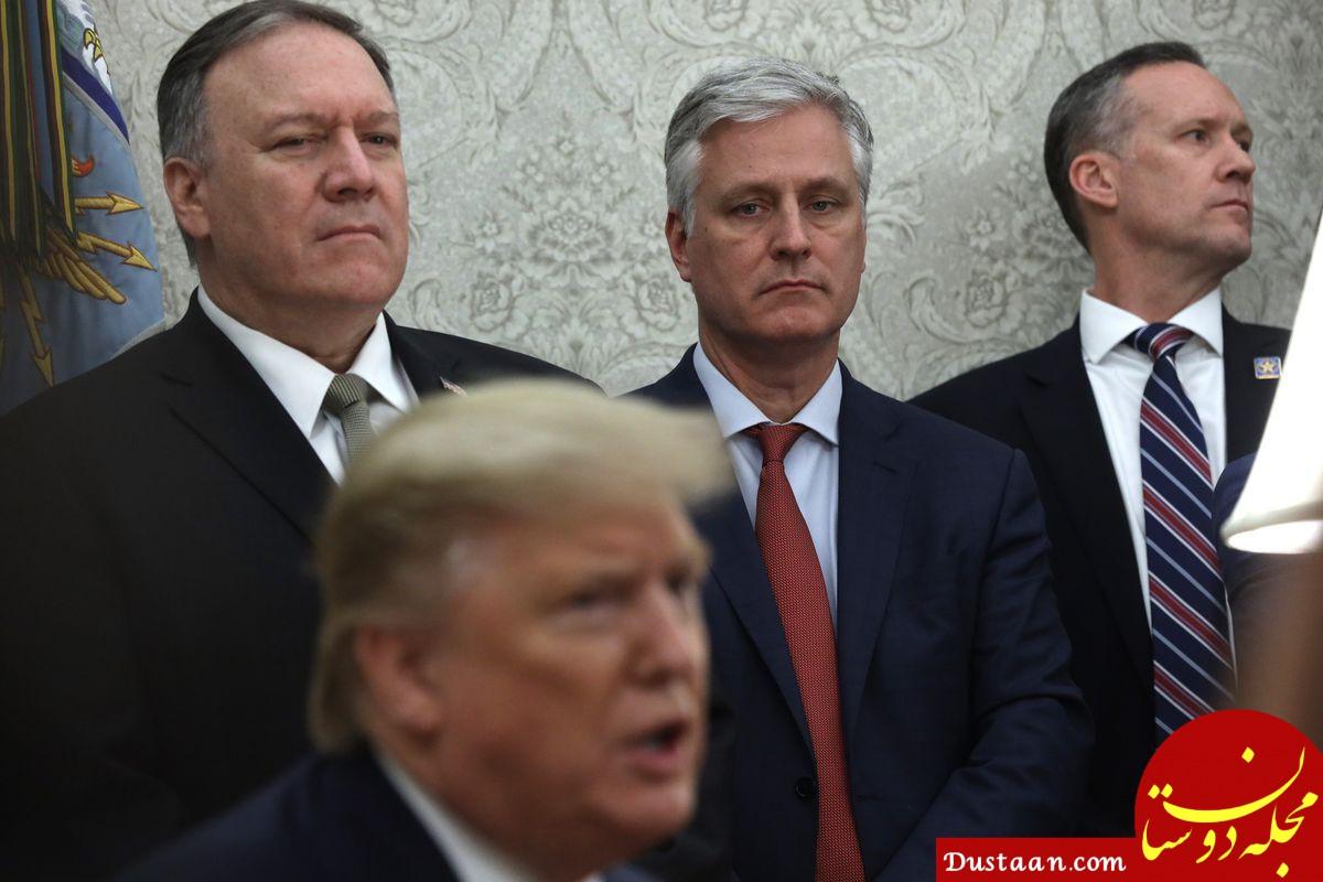 ترامپ: تا ۳۵ میلیارد دلار نگیریم، از عراق نمیرویم