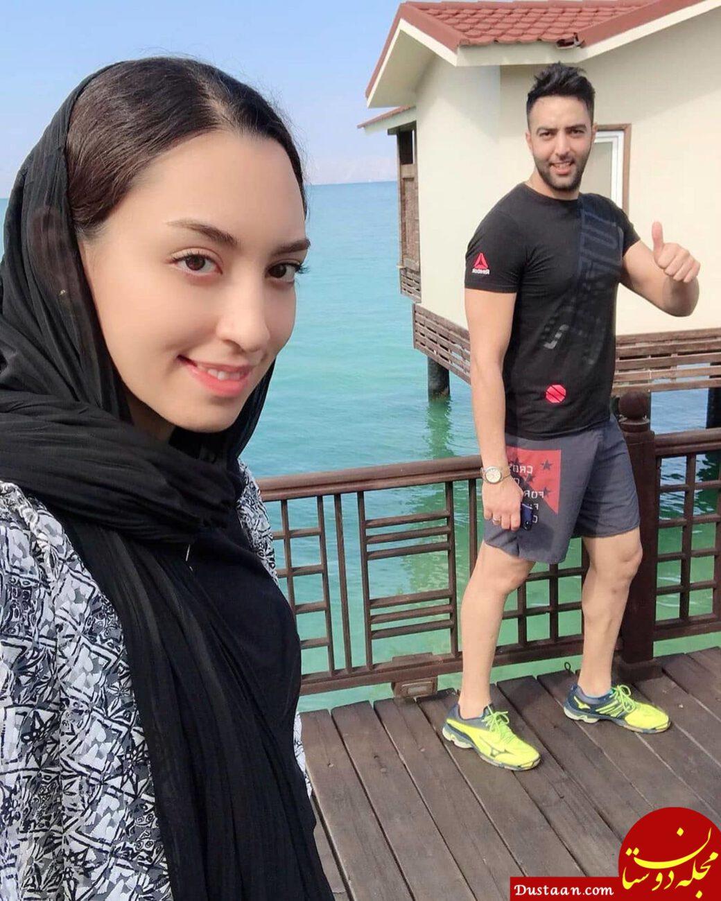جزئیات ازدواج کیمیا علیزاده و حامد معدنچی +عکس ها