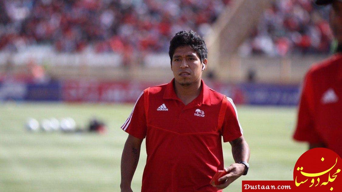 www.dustaan.com - بازیکن پرویی تراکتور به شایعات پایان داد