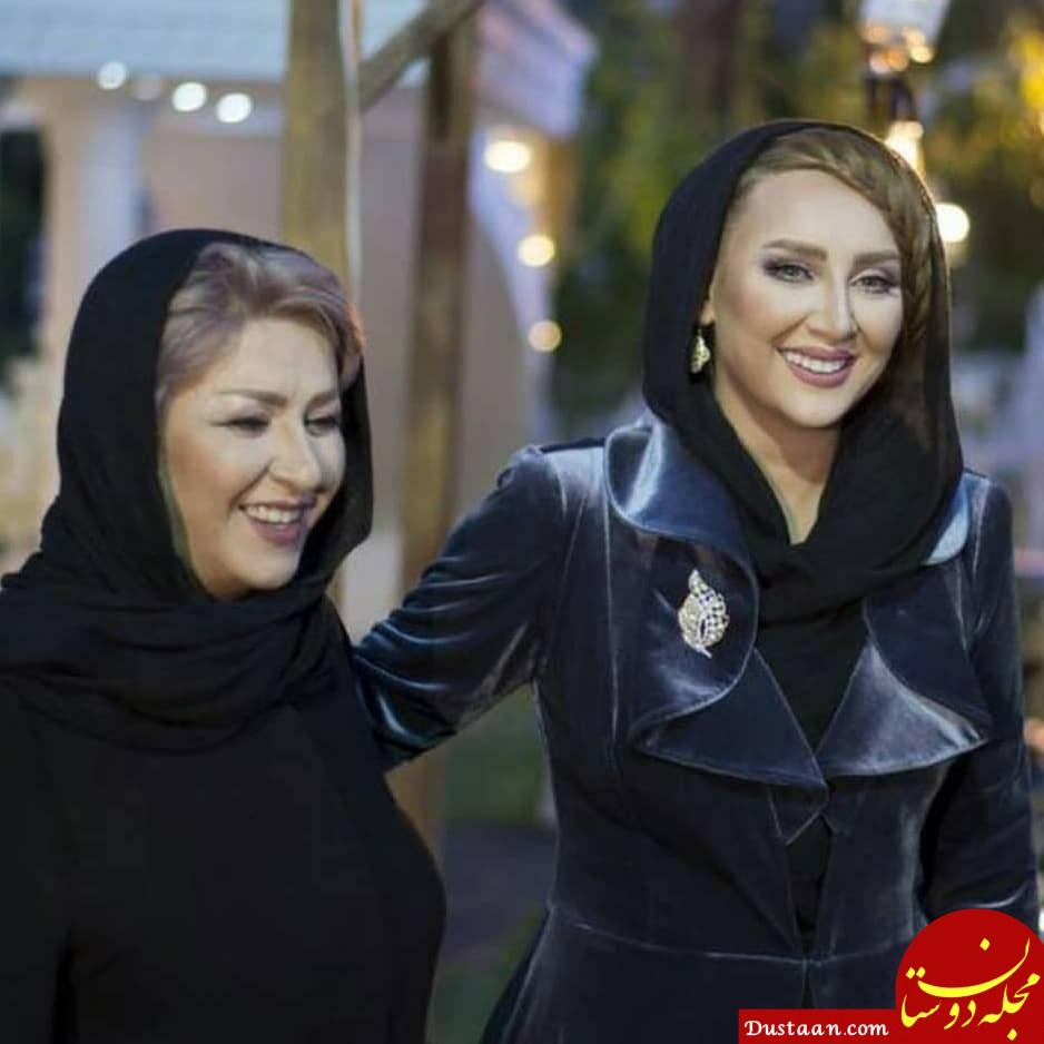 www.dustaan.com - عکس هایی جالب از بازیگران به همراه مادرشان در روز مادر