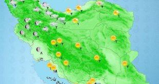 بارش برف در شمال غرب و شمال شرق کشور و ارتفاعات البرز / 25 بهمن