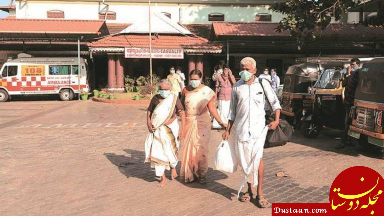 www.dustaan.com - پای خودکشی هم به اخبار کرونا در هند باز شد