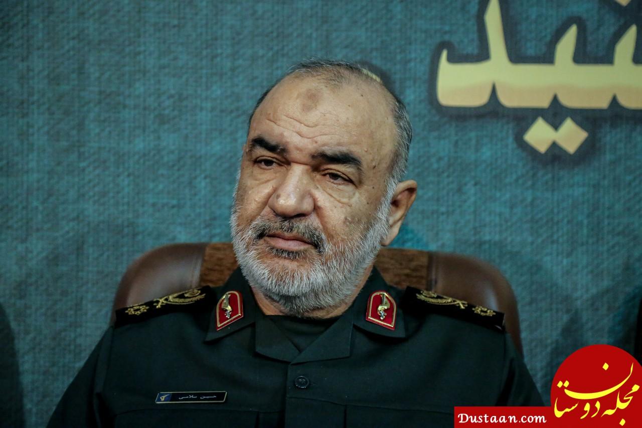 www.dustaan.com سرلشکر سلامی: برای جلوگیری از وقوع جنگ، راهی جز قوی شدن نداریم