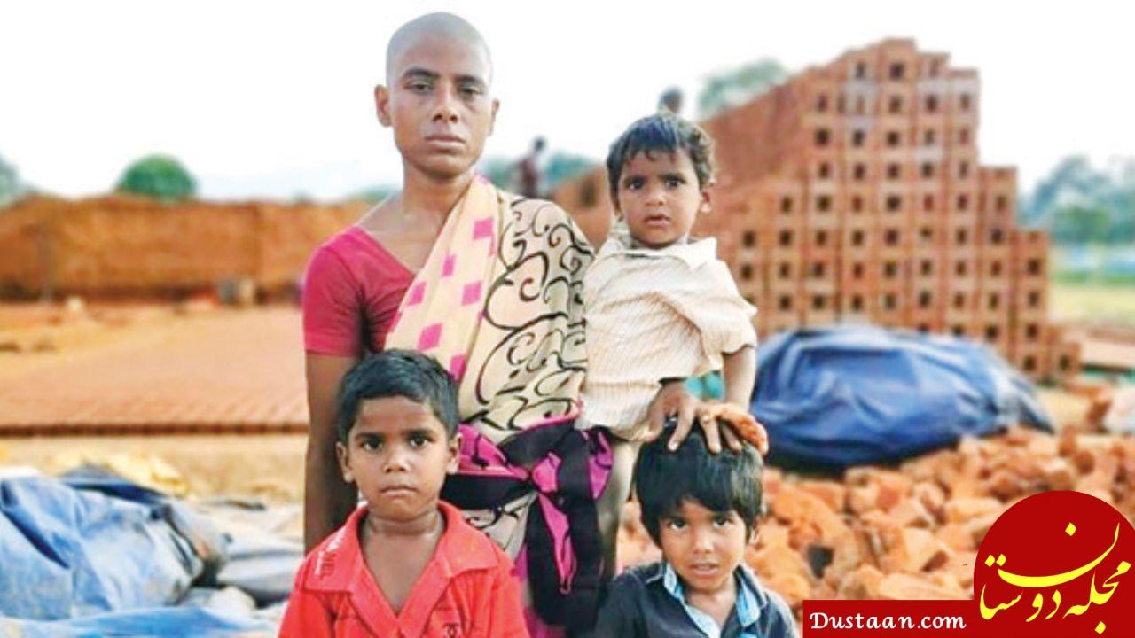 www.dustaan.com داستان زنی که موهایش را برای سیر کردن فرزندانش فروخت