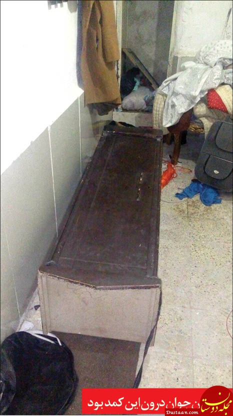 www.dustaan.com ماجرای جسدی در کمد وحشت! +عکس