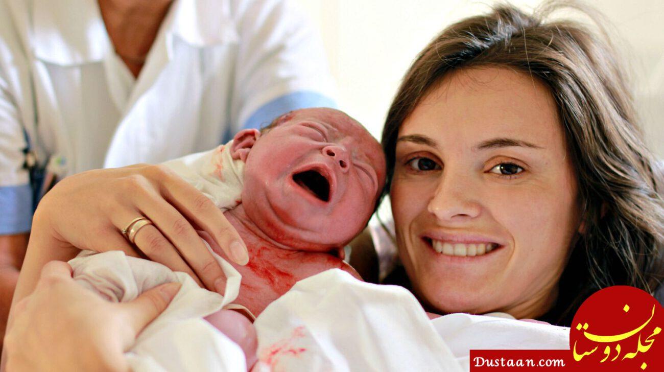 فواید زایمان طبیعی برای نوزاد + مراقبت های بعد از زایمان طبیعی