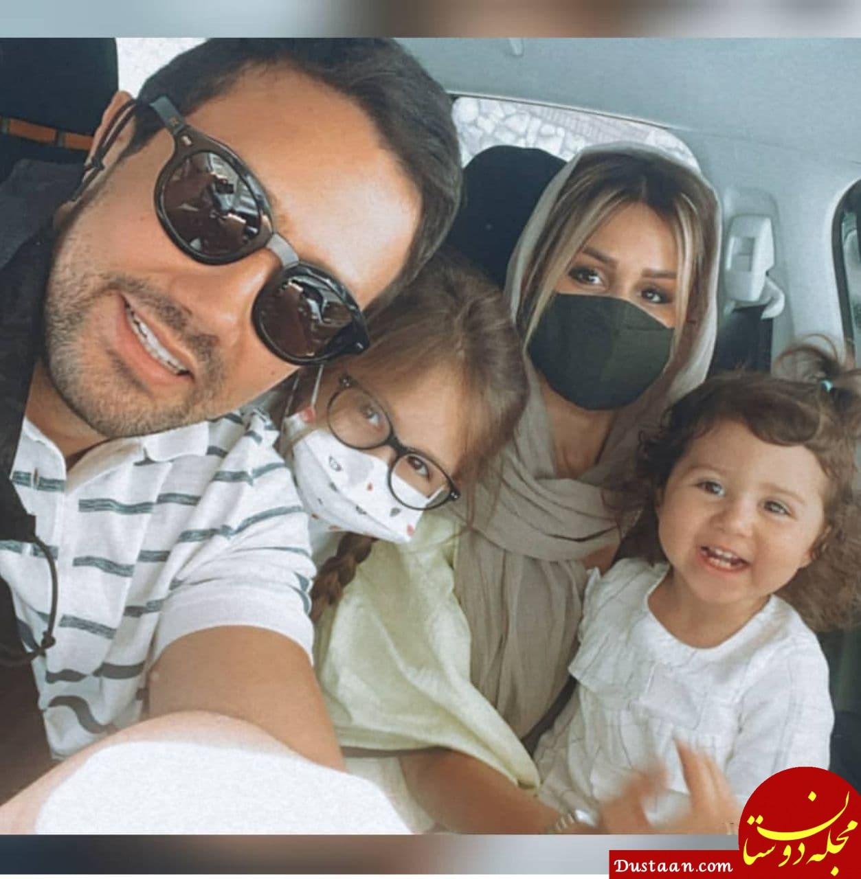 بیوگرافی شاهرخ استخری ،همسر و دخترانش پناه و نبات