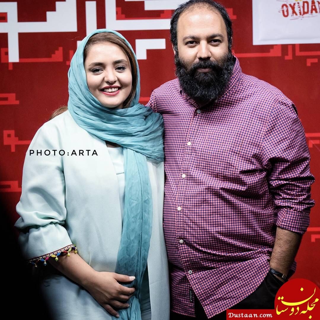 بیوگرافی و عکس های زیبای نرگس محمدی و همسرش علی اوجی