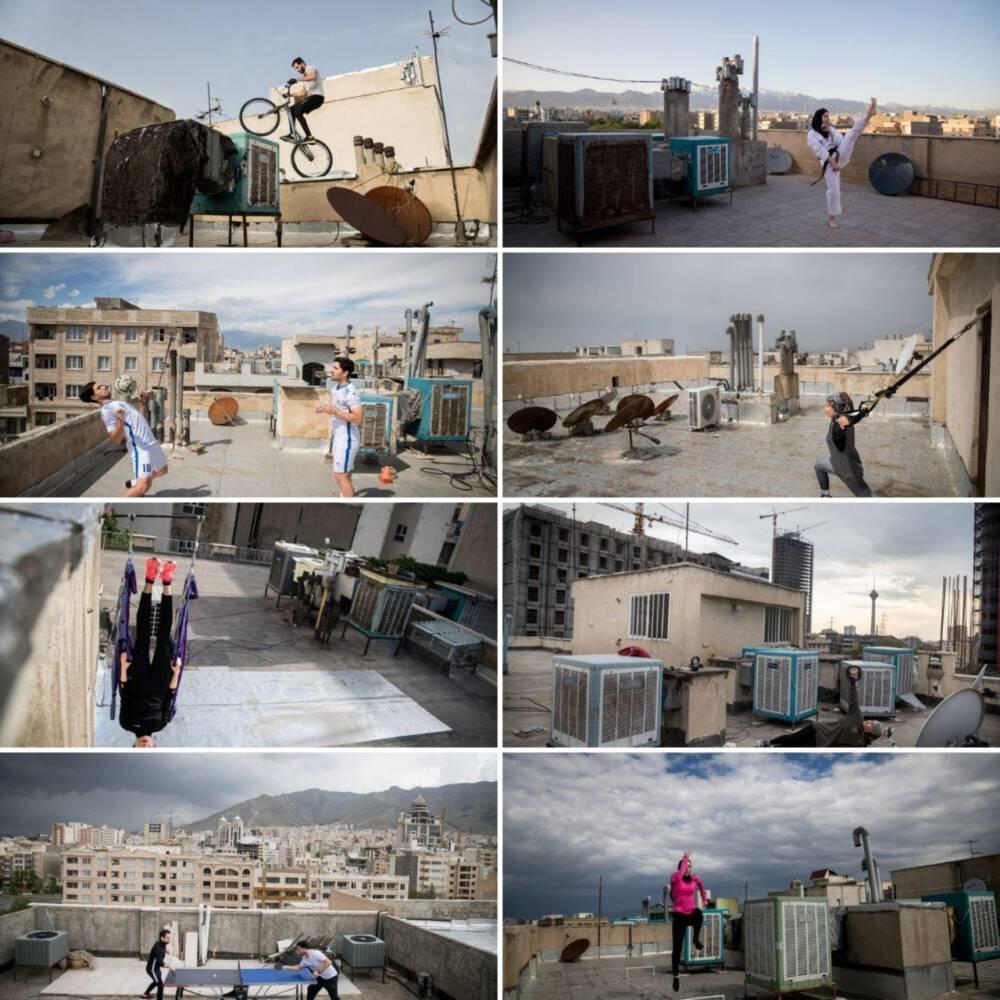 www.dustaan.com - زمین های تمرینی به وسعت بام های شهر