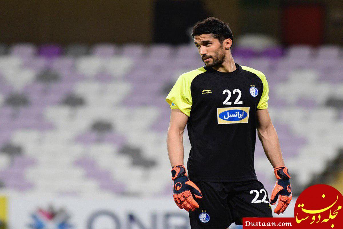 سیدحسین حسینی : دارم روزهای آخر فوتبالم را پشت سر میگذارم