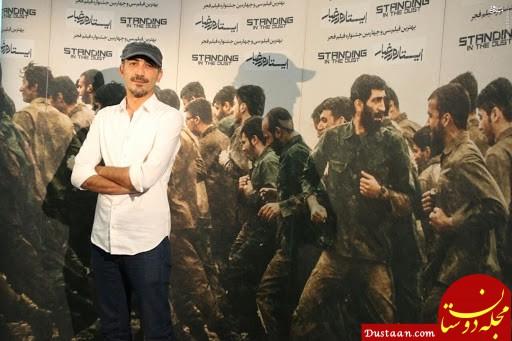 هادی حجازی فر در نقش شهید باکری