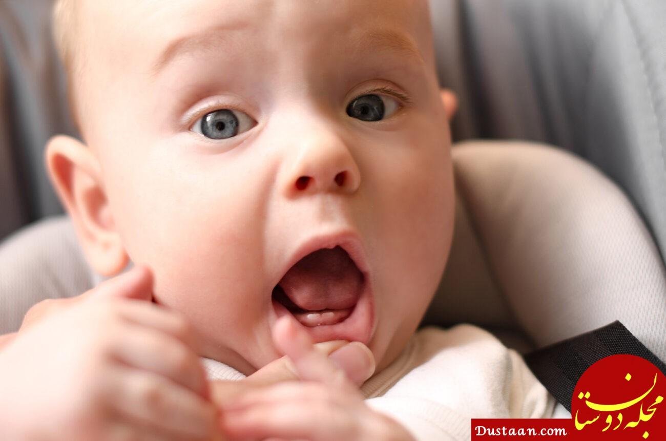 همه چیز درباره دندان درآوردن نوزادان/ راههای جبران کاهش وزن کودک هنگام دندان در آوردن
