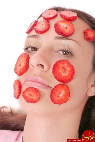 ماسک های توت فرنگی برای زیبایی و سلامت پوست