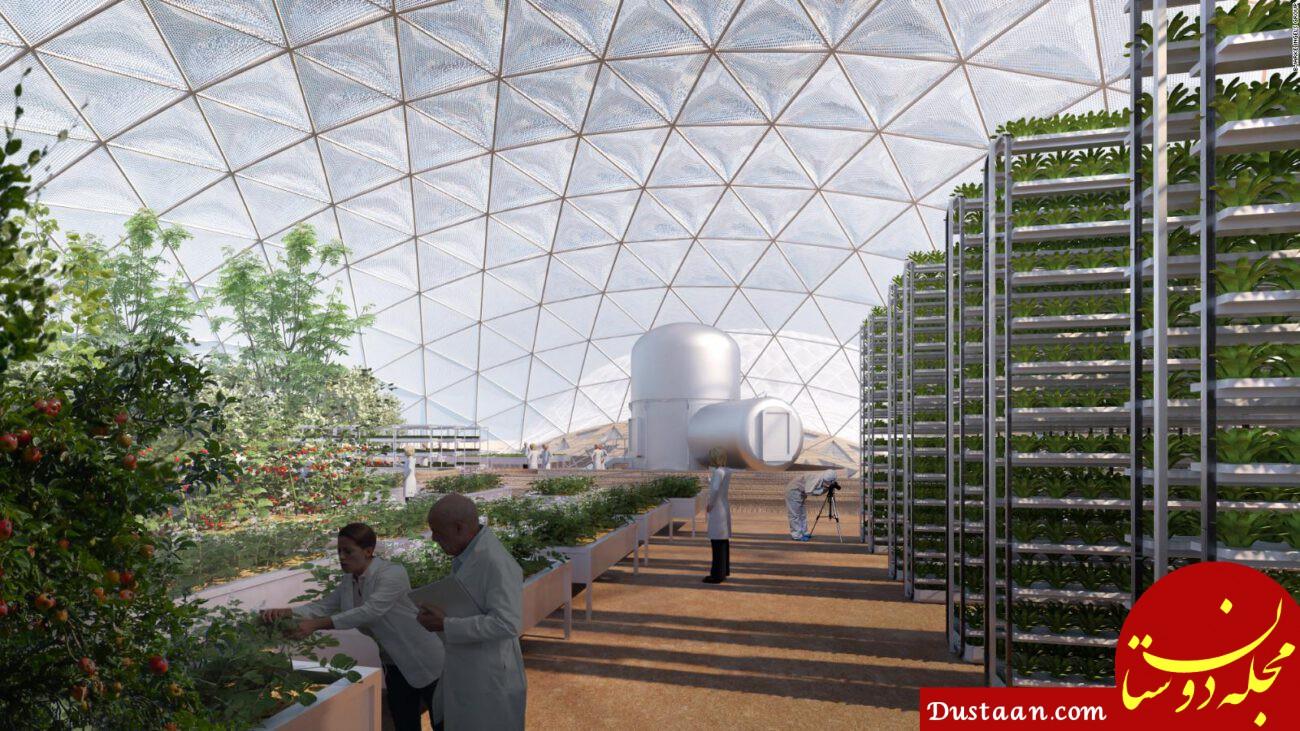 شهر مریخی دبی؛ پروژه جاه طلبانه امارات! +عکس