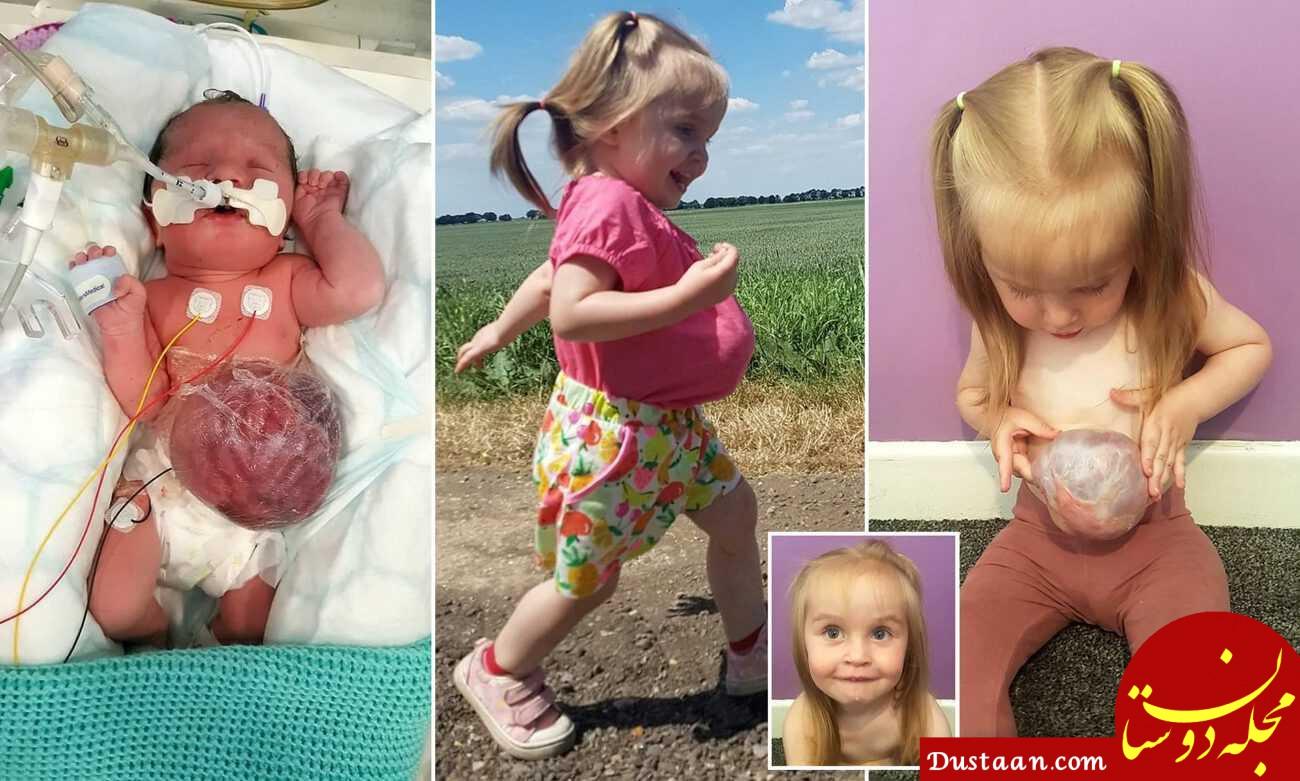 عجیب ترین دختر جهان را ببینید! +عکس