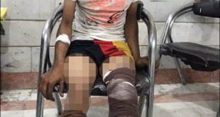 دستگیری سارق با 4 گلوله سربی! +عکس